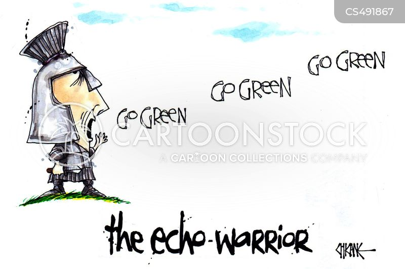 eco-warrior cartoon