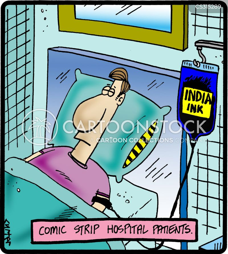 intravenous therapy cartoon