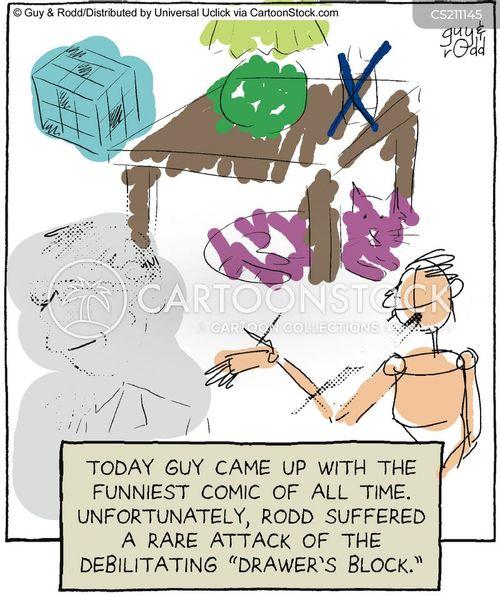 drawers cartoon