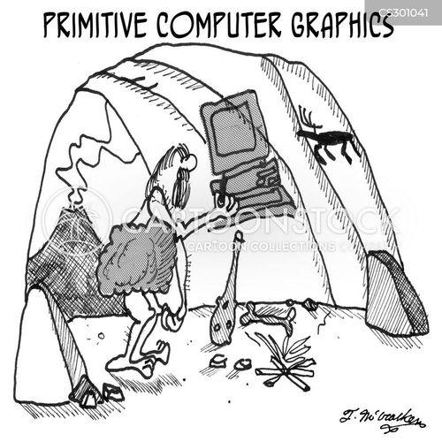 computer graphics cartoon