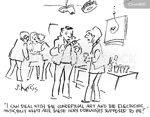 electronic music cartoon