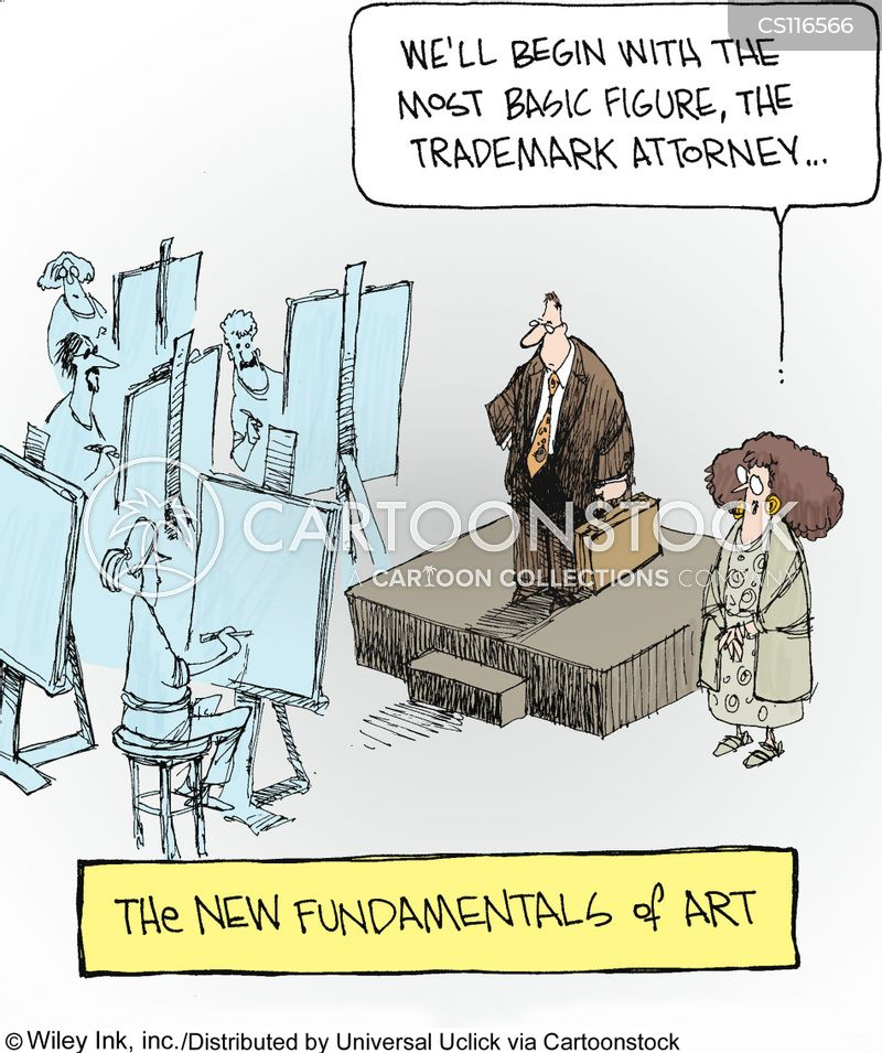 trademark cartoon