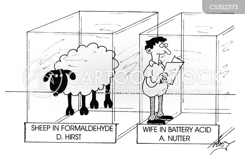 formaldehyde cartoon