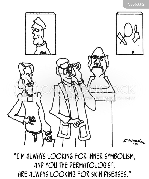 complexions cartoon