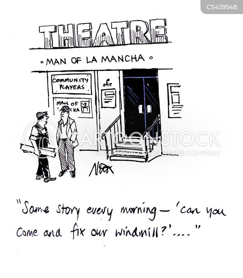 man of la mancha cartoon