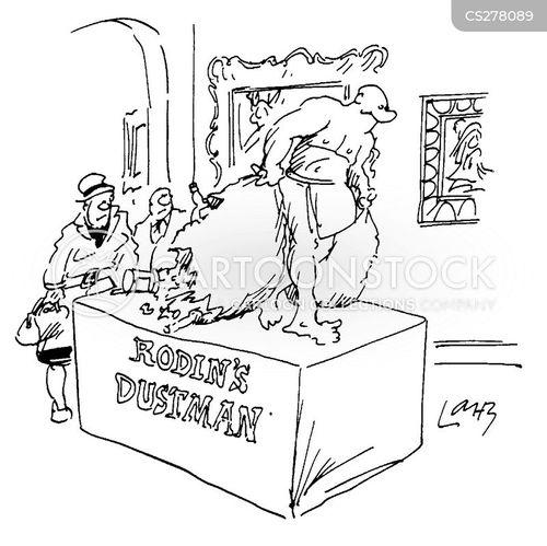 garbage collectors cartoon