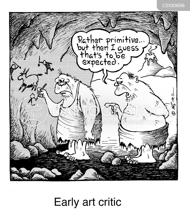 Early Art Critic Cartoons Early Art Critic Cartoon Funny Early Art Critic Picture