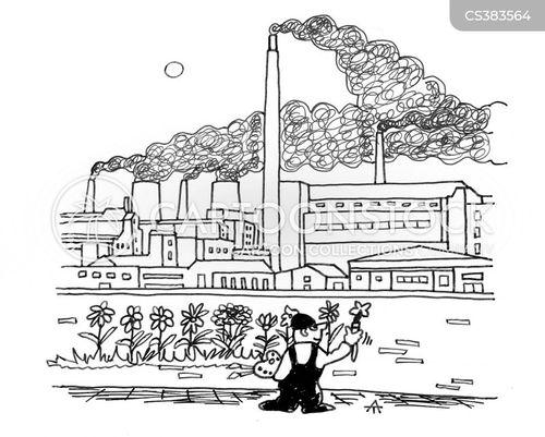 industries cartoon