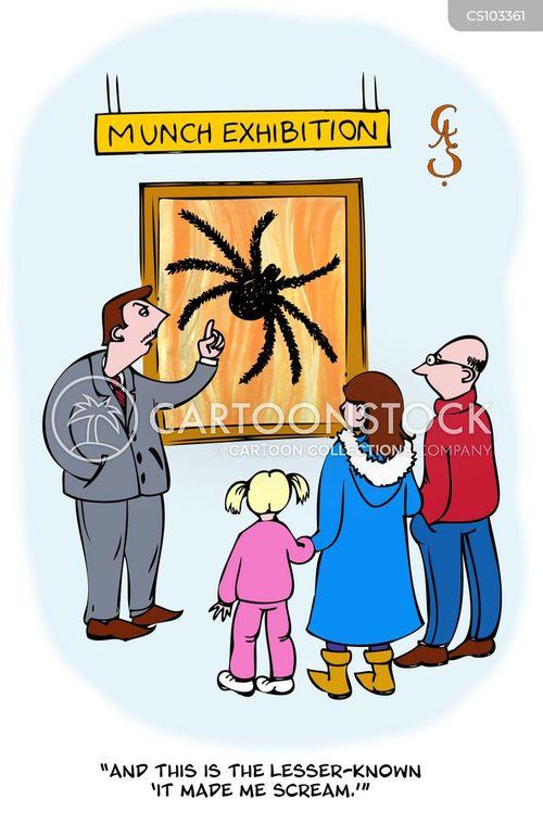 arachnophobics cartoon
