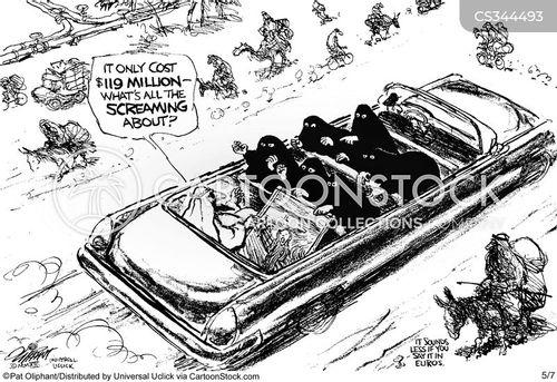 art auction cartoon