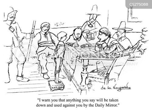 cromwell cartoon