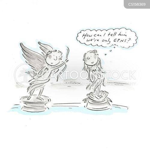 figurines cartoon