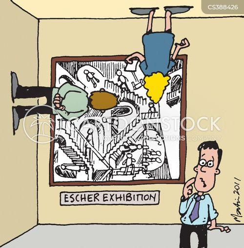 escher cartoon