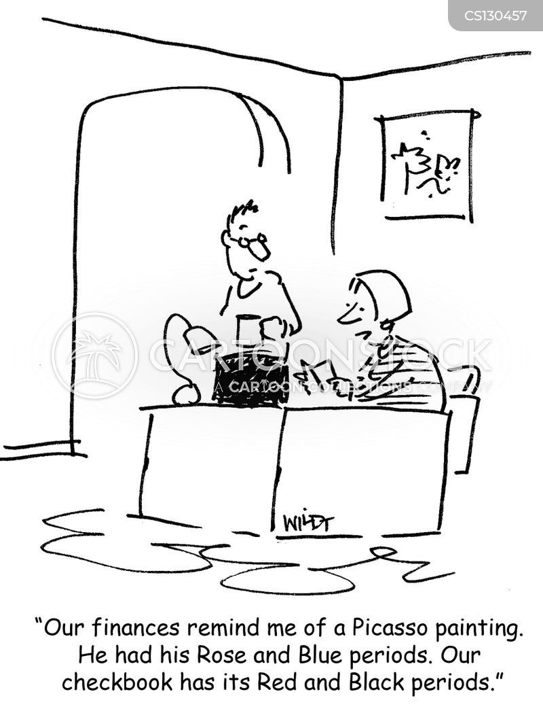 checkbook cartoon