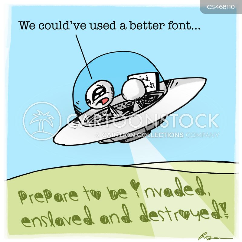 font types cartoon
