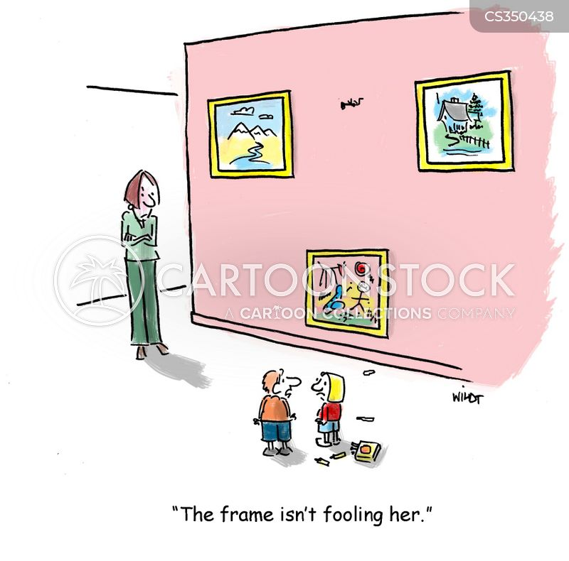 wall painting cartoon