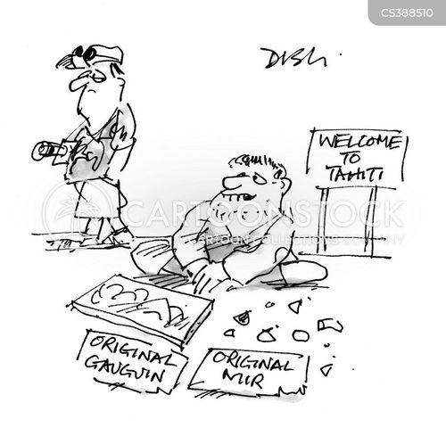 tahiti cartoon