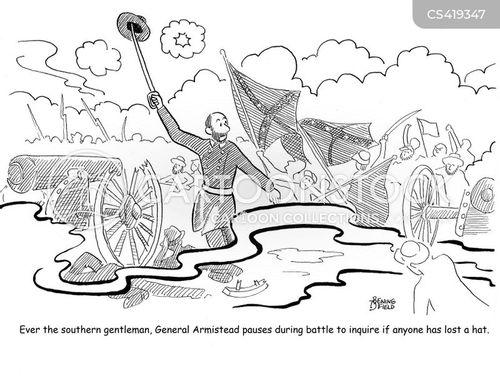 historic battles cartoon