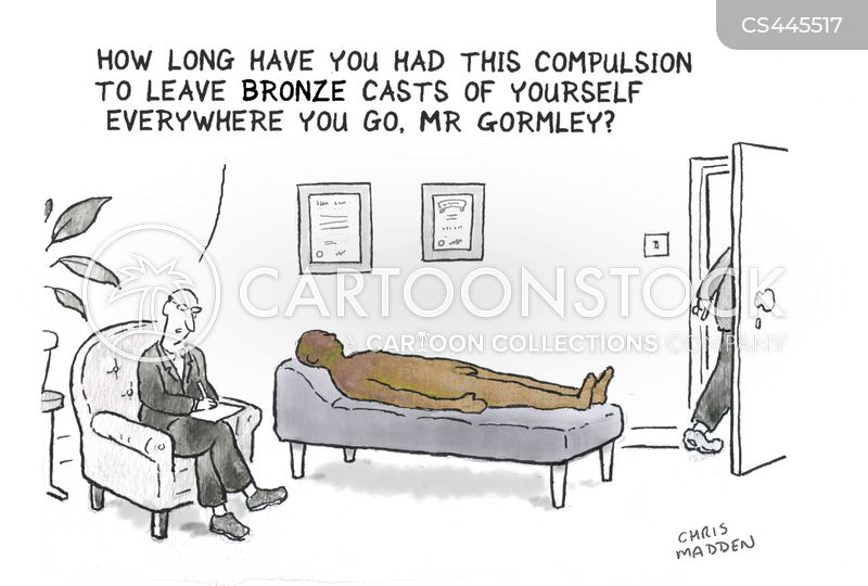 contemporary artists cartoon