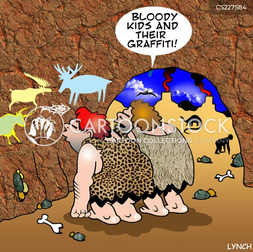wall paintings cartoon