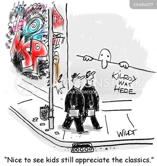 art style cartoon