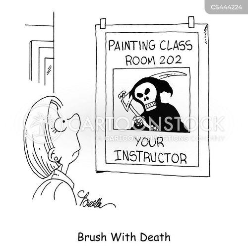 brushes cartoon