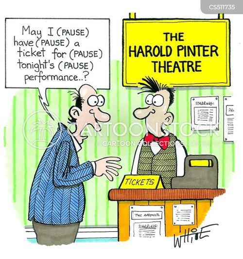 ticket office cartoon