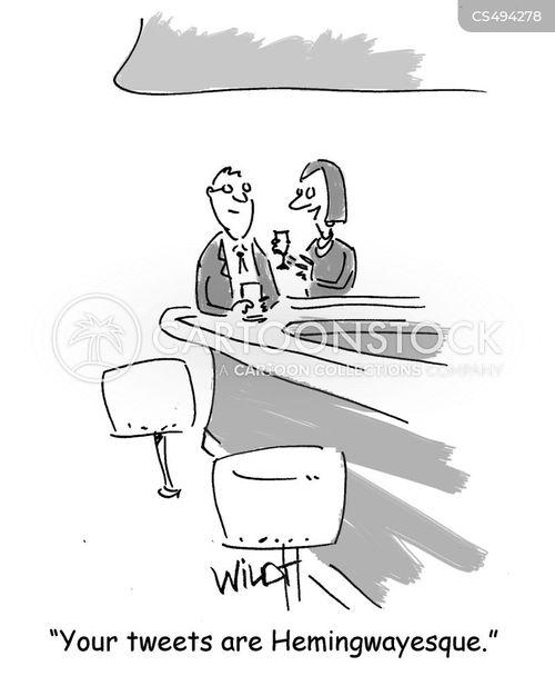 writing styles cartoon