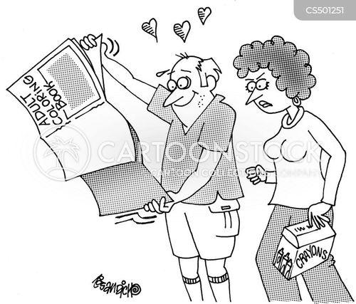 coloring book cartoon