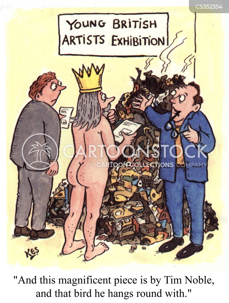 british artist cartoon