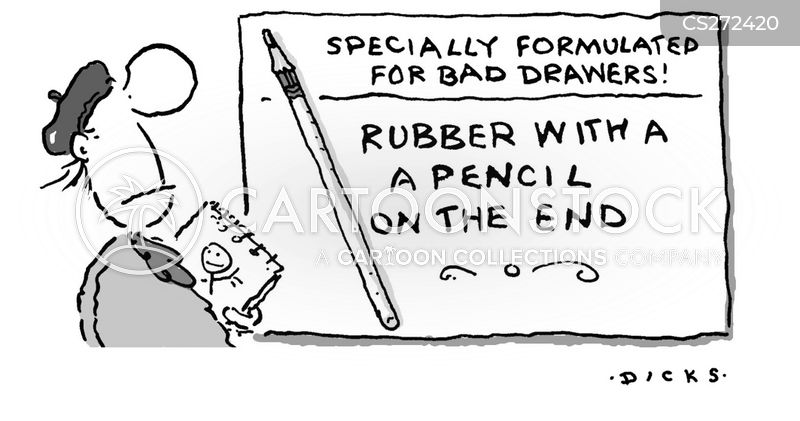bad artists cartoon
