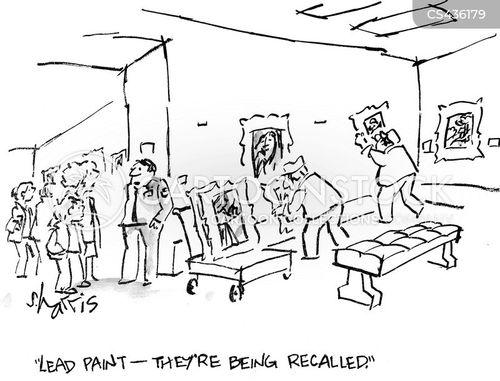 product recalls cartoon