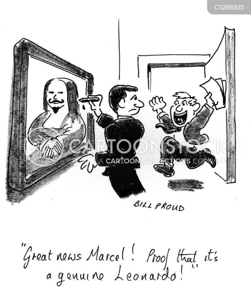 marcel duchamp cartoon