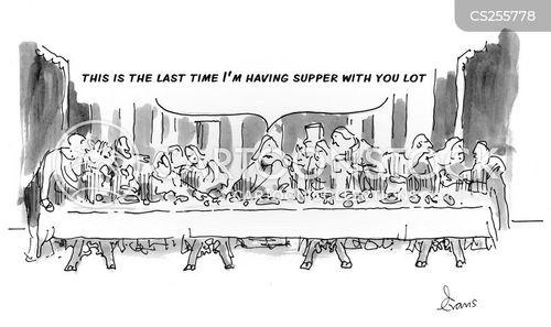 table manner cartoon
