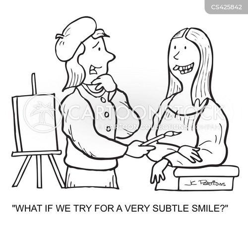 subtle cartoon