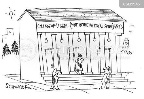 liberal arts cartoon
