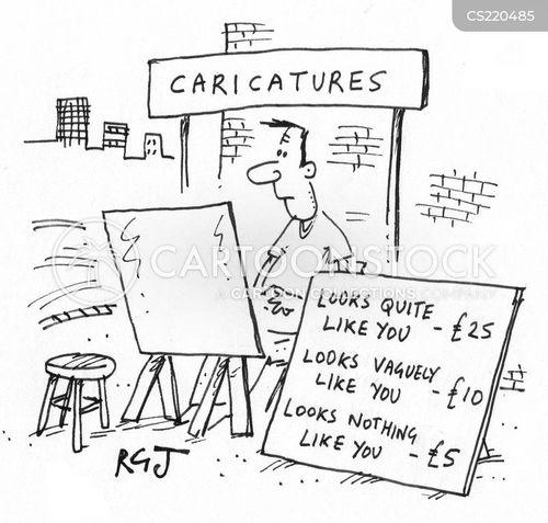street artists cartoon