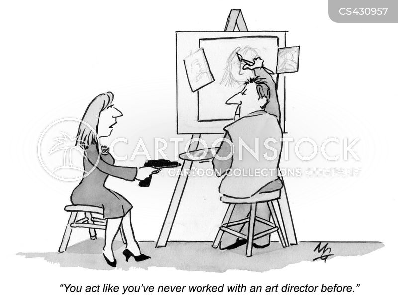 Art Director cartoons, Art Director cartoon, funny, Art Director picture, Art Director pictures, Art Director image, Art Director images, Art Director illustration, Art Director illustrations