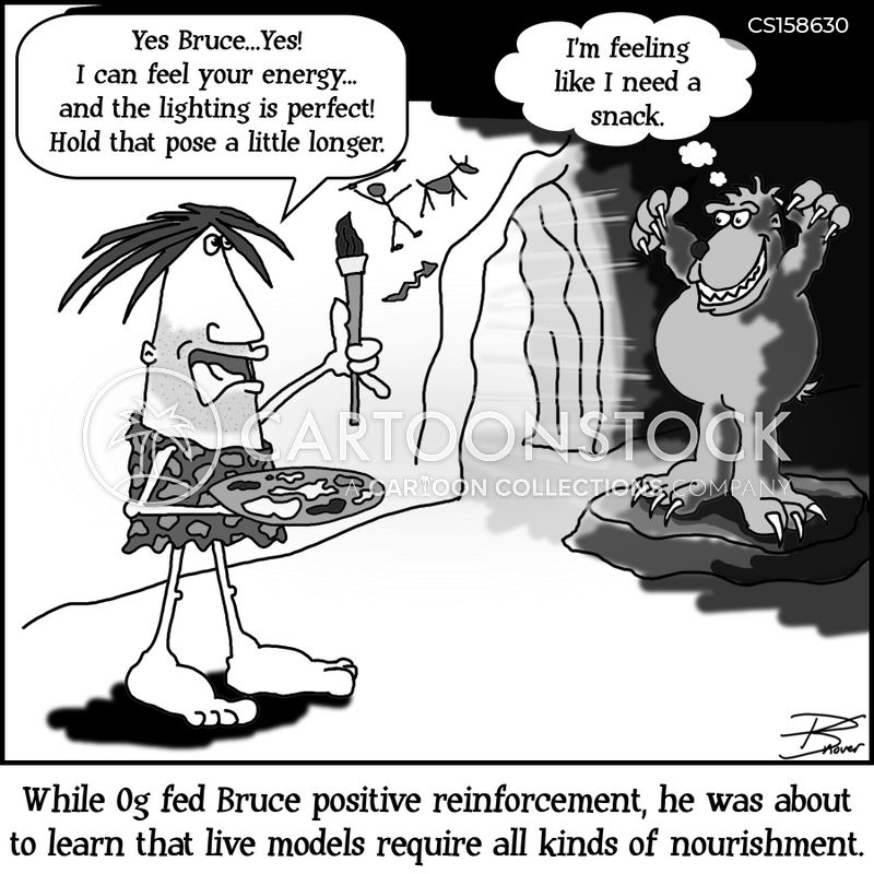 positive reinforcement cartoon
