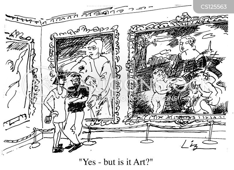 classic art cartoon