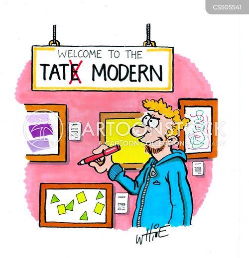 tate modern cartoon