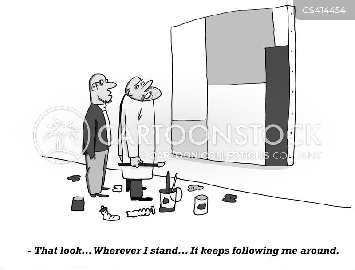 modern artworks cartoon