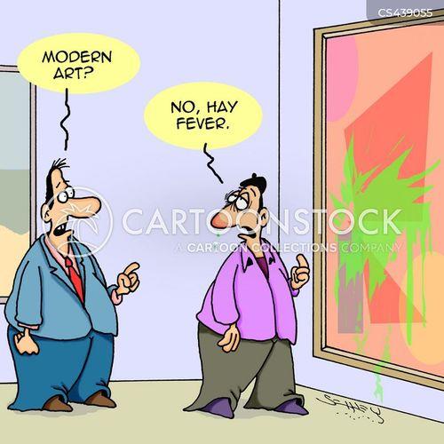 hay fevers cartoon
