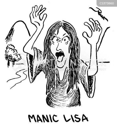 mania cartoon