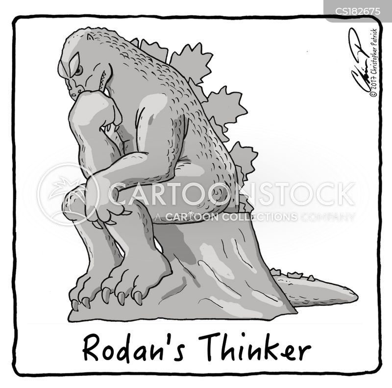 auguste rodin cartoon