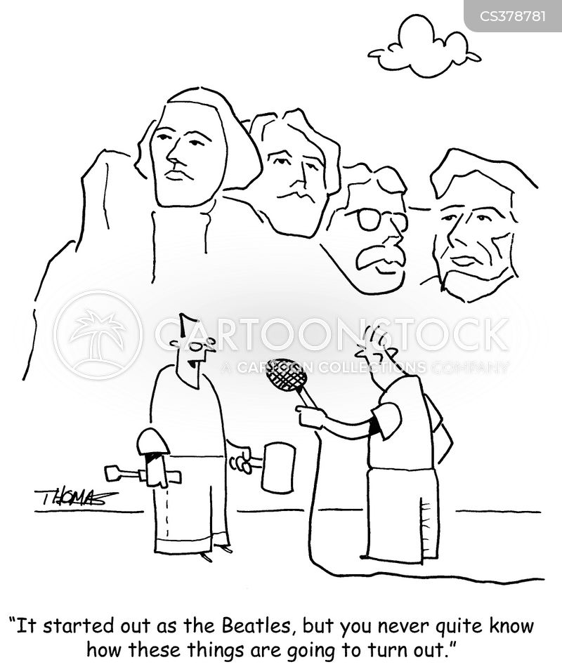 mount rushmore cartoon
