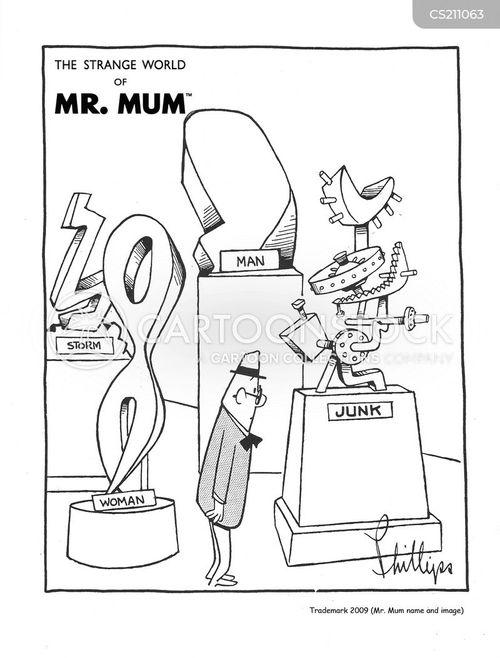 modern arts cartoon
