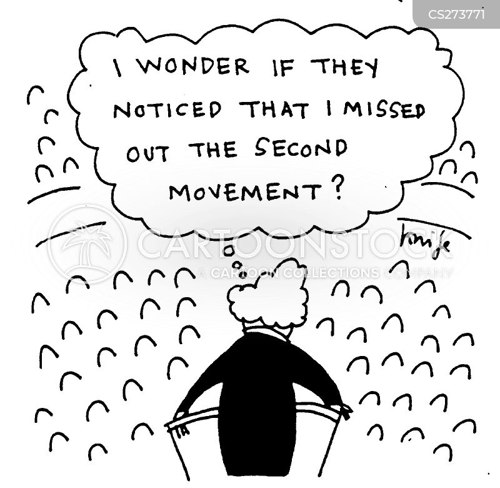 music conductors cartoon