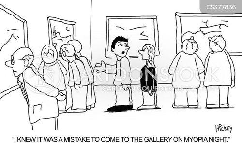 short sightedness cartoon