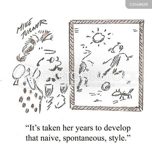 naivity cartoon